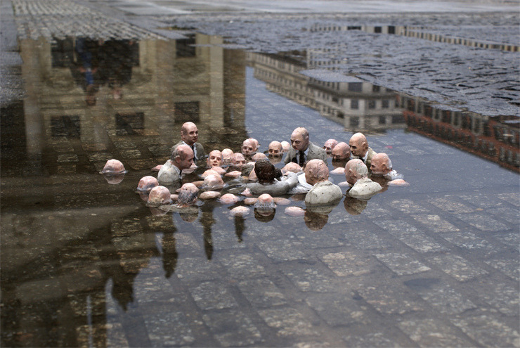 Politicians discussing climate change until the very end
