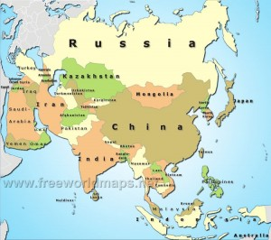 Middle East and Asia