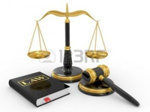 8781568-legal-gavel-scales-and-law-book-on-a-white-background